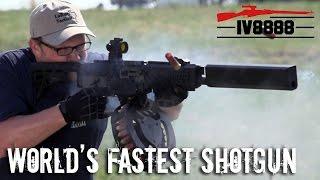 Repeat youtube video World's Fastest Shotgun: Fostech Origin 12