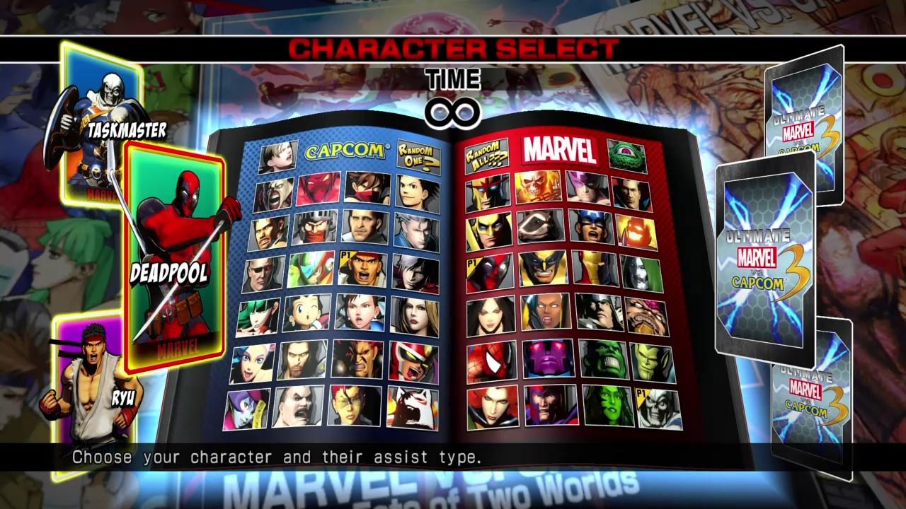 UMVC3 Gameplay - Ultimate Marvel VS Capcom 3 (PS4) - YouTube   1280 x 720 jpeg 275kB