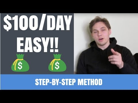 How To Make $100 A DAY As A BROKE Individual - BEST Way To Make Money Online!!