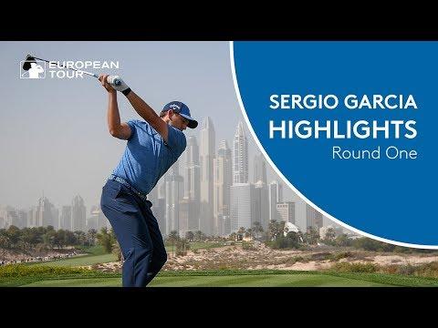 Sergio Garcia Highlights | Round 1 | 2018 Omega Dubai Desert Classic