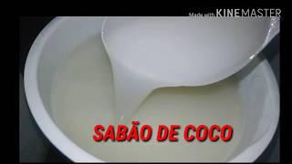 Fazendo detergente e sabão de coco sem o uso de soda