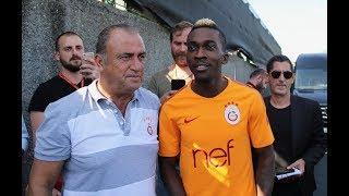 Onyekuru, Galatasaray'ın kampına katıldı - ZÜRİH
