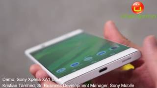 Sony Xperia XA1 Ultra Demo - MWC 2017
