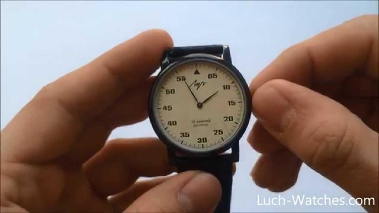 Обзор часов Луч 738759463 - YouTube