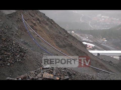 Report TV - Bulqizë. rreshqit stogu i kromit, rrezikohet tubacioni i ujit të pijshëm