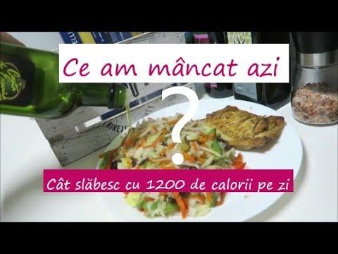 Dieta de 1200 calorii pe zi