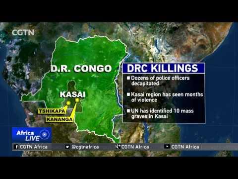 Congo militia fighters decapitate more than 40 policemen