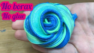 !!MUST WATCH!! !!REAL!! HOW TO MAKE THE BEST FLUFFY SLIME WITHOUT GLUE, WITHOUT BORAX! EASY SLIME!