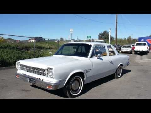 1968 AMC Rambler Muscle car S/CRambler Clone S/C American Motors For Sale