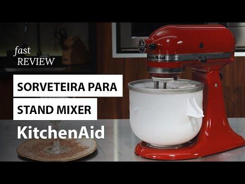 Sorveteira para Stand Mixer KitchenAid   Fast Review   Fast Shop