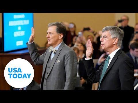 Full public testimony of President Trump impeachment inquiry | USA TODAY
