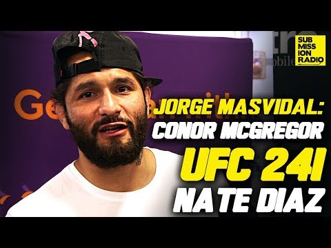 Jorge Masvidal Reacts to Conor McGregor Pub Attack Video, Nate Diaz/Anthony Pettis, Colby Covington