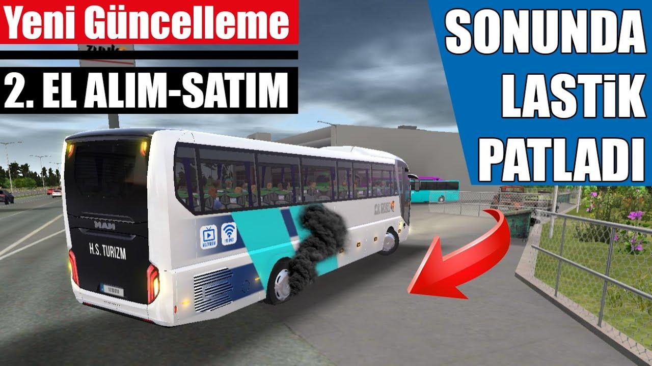 SONUNDA LASTİK PATLADI 🤣 2.EL OTOBÜS ALIM-SATIM GELDİ !!