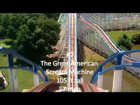 Top 10 Six Flags Over Georgia Rides