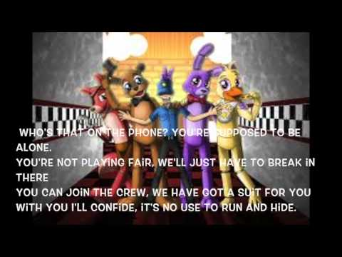 Five nights at freddy s song lyrics by the living tom doovi
