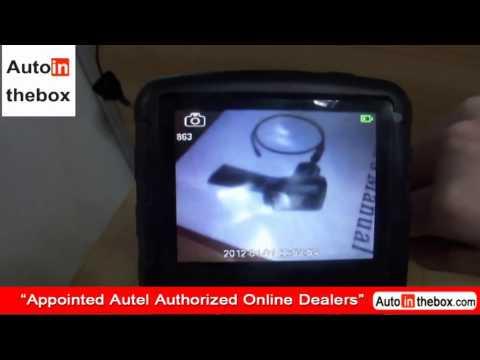 Introduction of Autel Maxivideo MV400 digital videoscope