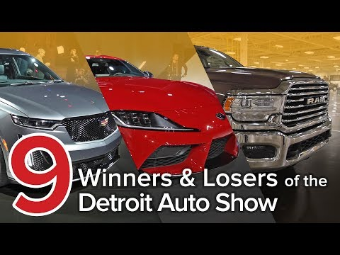 9 Winners & Losers from the 2019 Detroit Auto Show: The Short List Mp3