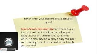 Carnival Dream On Board Activities App