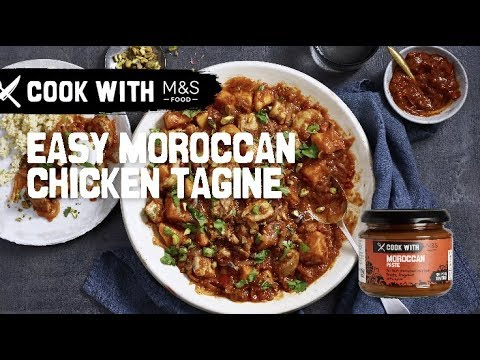 M&S   Cook With... Easy Moroccan Chicken Tagine