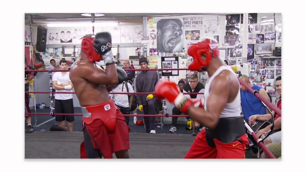 MMA Ultimate Set: Anderson Silva Sparring at Wild Card ...