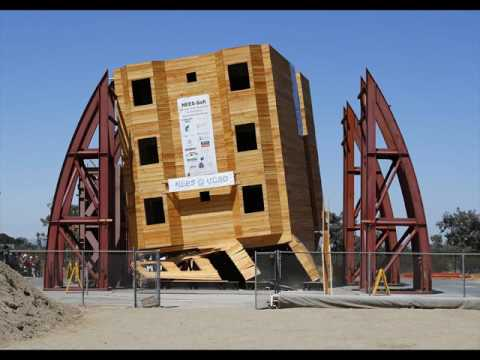 Examples of Earthquake Proof Buildings Designs - YouTube