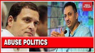 Abuse Politics : Union Minister Ananthkumar Hegde Calls Rahul Gandhi A 'Moron'
