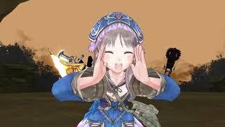 Atelier Meruru DX Machina boss fight
