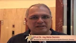 PlumbexIndia Testimonial - Dr. Ing Mete Demiriz