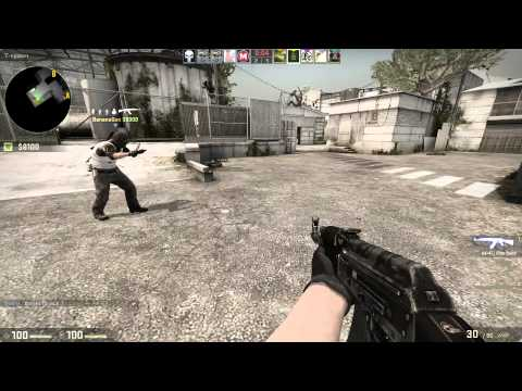 CashNCarry Errepulify Gameplay CS:GO I guess he was using wallhack or had skills...