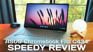 ASUS Chromebook Flip C434 Speedy Review