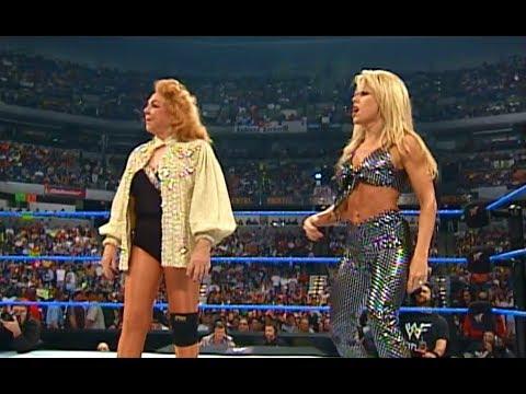 (720pHD): WWE SD 04/13/00 - The Kat & Mae Young vs. Terri Runnels & Fabulous Moolah