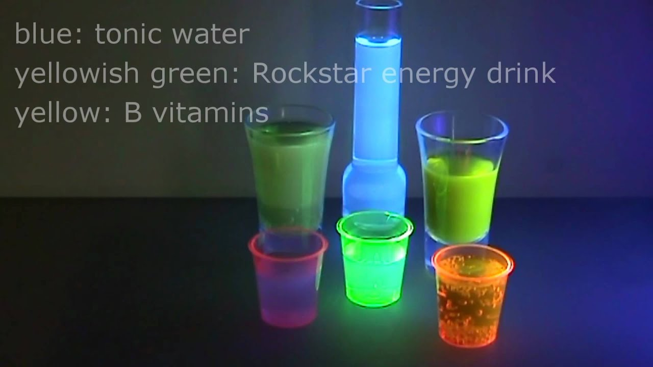 Black Light Alcoholic Drinks