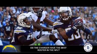 Do the Chargers have the best roster in the NFL?