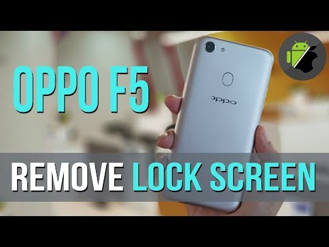Remove lock screen (pattern lock), demo retail, unbrick for OPPO F5 (CPH1723)