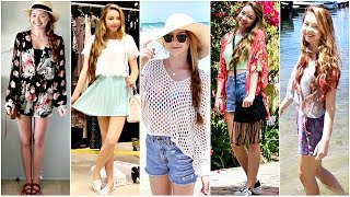 Outfits of the Week: Summer Break! Thumbnail