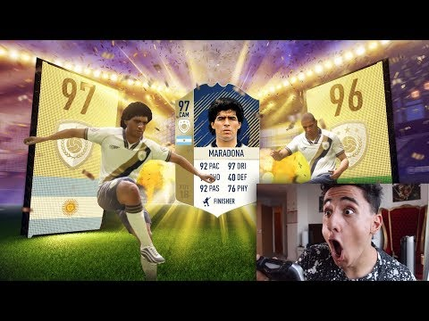 THE LUCKIEST PACKS FROM FIFA 09 - FIFA 18 !!! ( Pack Opening )
