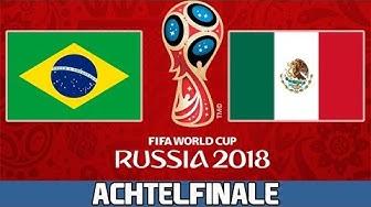 BRASILIEN : MEXIKO   Achtelfinale   FIFA WM 2018 Prognose