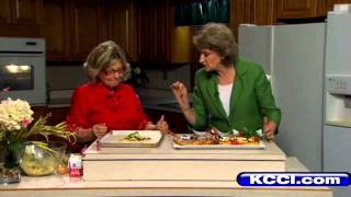 Chef Terrie: Iowa Corn, Garden Vegetable Tart