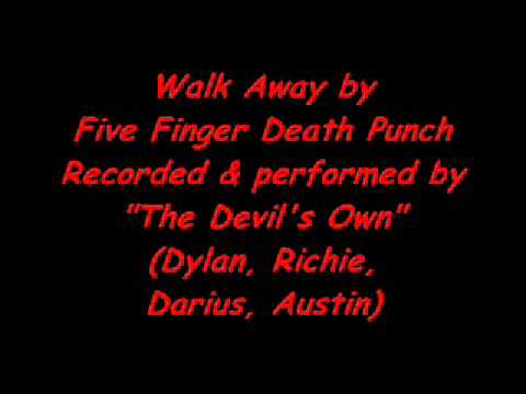 Walk Away by Five Finger Death Punch (Cover)