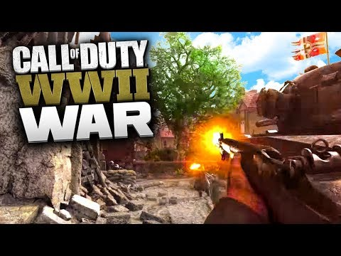 INSANE COD WW2 MULTIPLAYER WAR GAMEPLAY