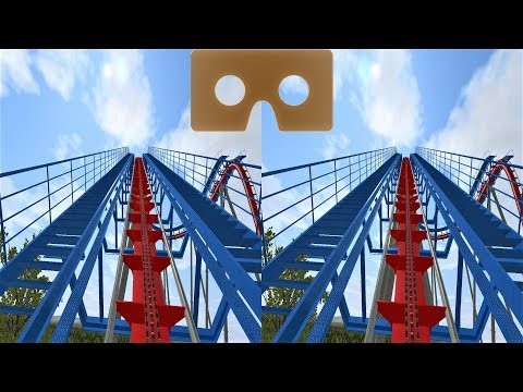 VR 3D Video Roller Coaster 13 Американские Горки для VR очков 3D SBS VR Box