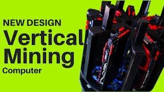 Vertical Mining New Compact Design Etherium Monero Sia Bitcoin