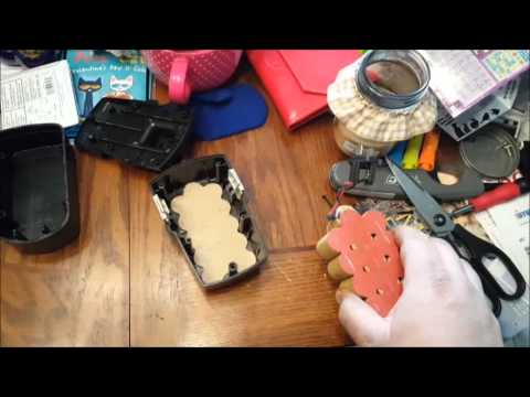 Rebuilding cordless tool batteries from Harbor Freight battery packs