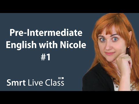 pre-intermediate-english-with-nicole-#1