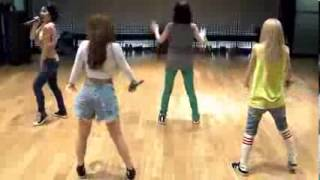 2NE1   Falling in love dance practice MIRROR]