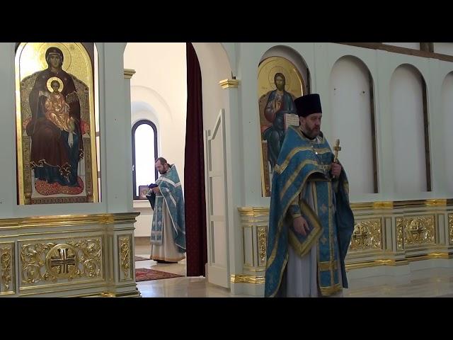 Проповедь отца Игоря в праздник Рождества Пресвятой Богородицы 21.09.2021