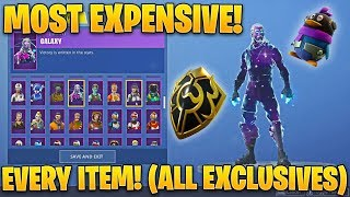 The Most EXPENSIVE Fortnite Account of ALL TIME! (Every Item EVER Released)