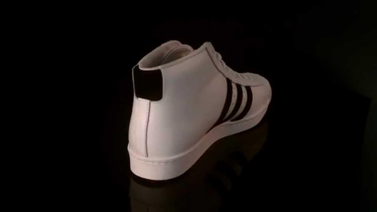 Adidas Pro Model Vintage Deluxe b35246 zapatillas blanco negro blanco