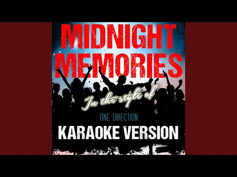 Midnight Memories (In the Style of One Direction) (Karaoke Version)