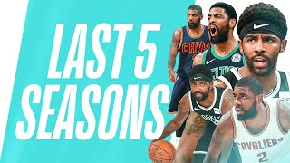 Kyrie Irving's MUST SEE Handles | Last 5 Seasons